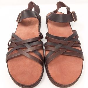 Chaco Fallon Women's Size 10 Java Leather Ankle